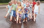 Vaikai patyrė vasaros džiaugsmus