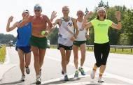 Sutikti Baltijos kelio bėgimo dalyviai