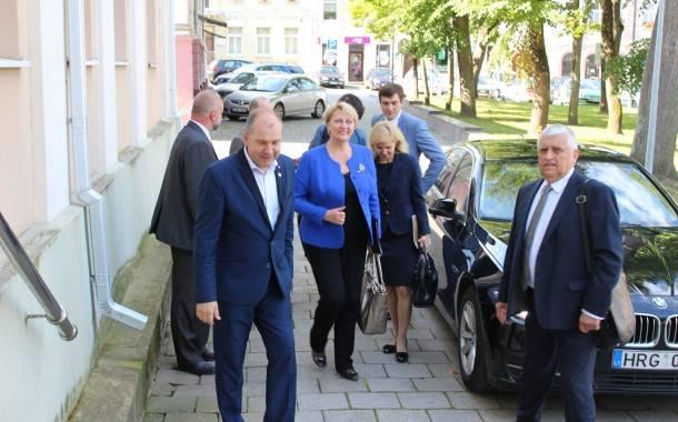 Finansų ministrė Ukmergėje domėjosi ES investicijomis