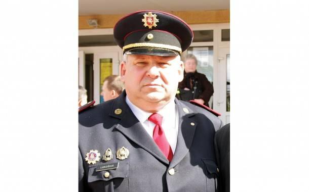 Ilgametis vadovas atsisveikina su Priešgaisrine gelbėjimo tarnyba