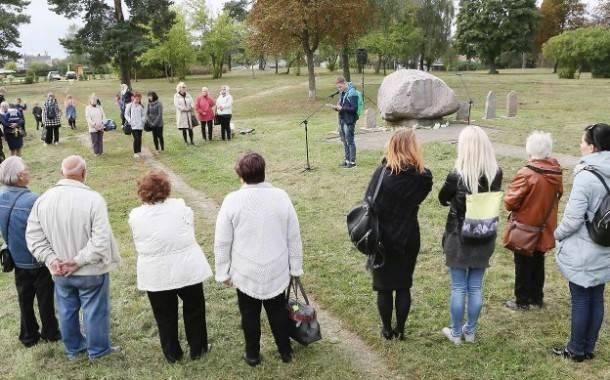 II Antakalnyje ir Ukmergėje skambėjo nužudytų žydų vardai