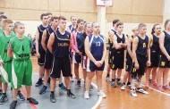 Krepšinį žaidė kaimo gimnazijų atstovai