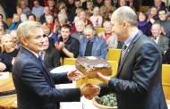 Naujojo Seimo pirmininko šaknys – taip pat Ukmergėje