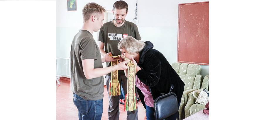 Į Sibirą iškeliavo 900 kalėdinių atvirlaiškių