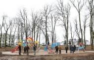 Vaikus kviečia nauja žaidimų aikštelė