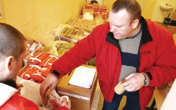 Maisto paketus gaus 2 628 rajono gyventojai