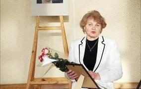 "Konkurso ""Himnas ""Vilkmergei"" laureatė – Leonora Jankeliūnienė"