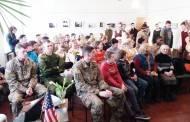 JAV kareivių linksmasis desantas Sližiuose