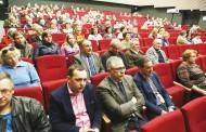 Rajono vadovų veiklos ataskaita vainikuota kino filmo peržiūra