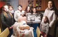 Su dovanomis aplankėme gražią šeimą