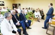 Ligoninėje lankėsi sveikatos apsaugos ministras