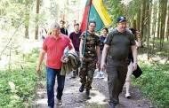 Šimonių girioje prisiminė ir pagerbė kovotojus
