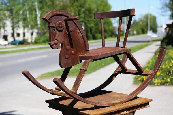 """Prie senojo pašto –""""Keliaujantis arkliukas"""""""