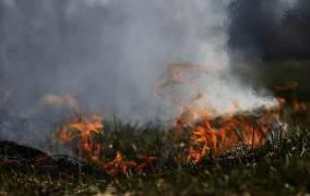 Laumėnuose – antras gaisras
