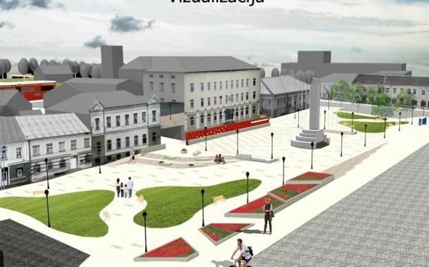 Pristatyta miesto centro vizija