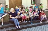 Trečiokai ir jų tėveliai keliavo po Ukmergės kraštą