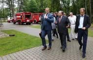 Ministras: savivaldybių ugniagesius prisimena, kai kažkas nutinka