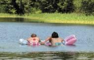 Rajono vandens telkiniuose maudytis galima