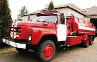 Aukcione parduotas gaisrinis automobilis