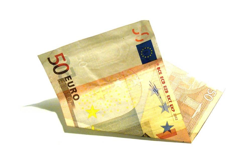 50 eurų kupiūra sukėlė įtarimų