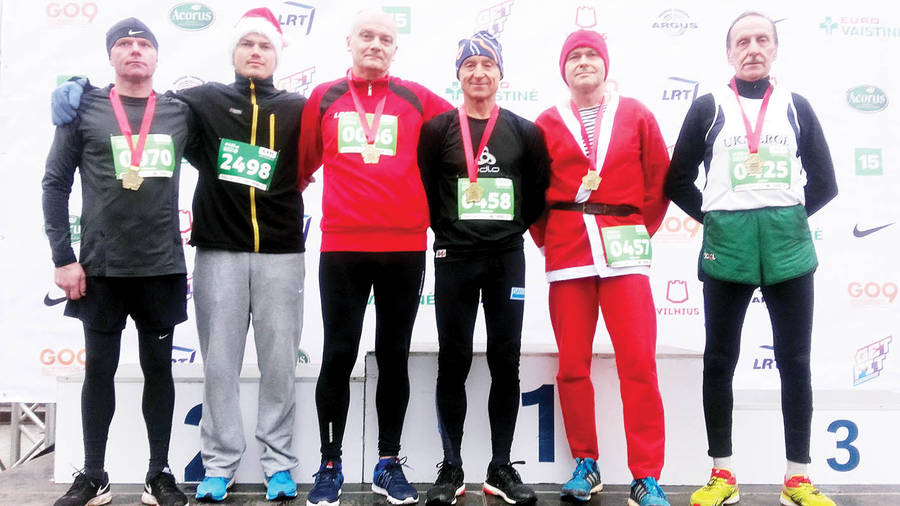 Tradiciniame bėgime – ir 14 ukmergiškių