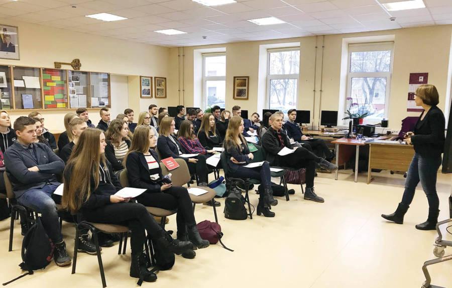 Gimnazijos mokiniai – europarlamentarai