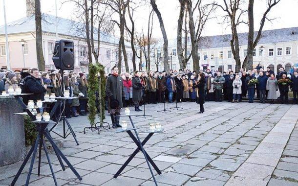Sausio 13-ąją prisiminta ir Ukraina
