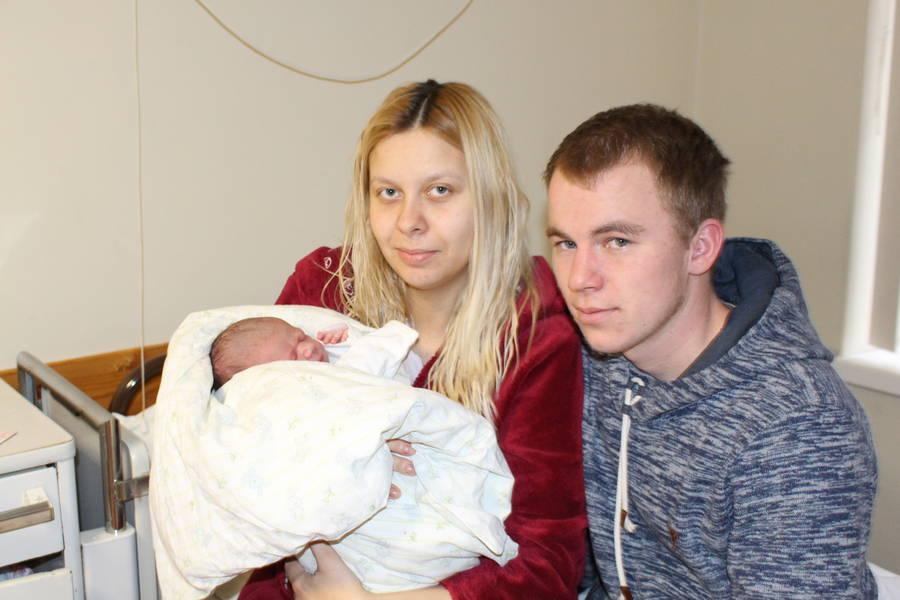 Pirmoji Ukmergėje šiemet gimė mergytė