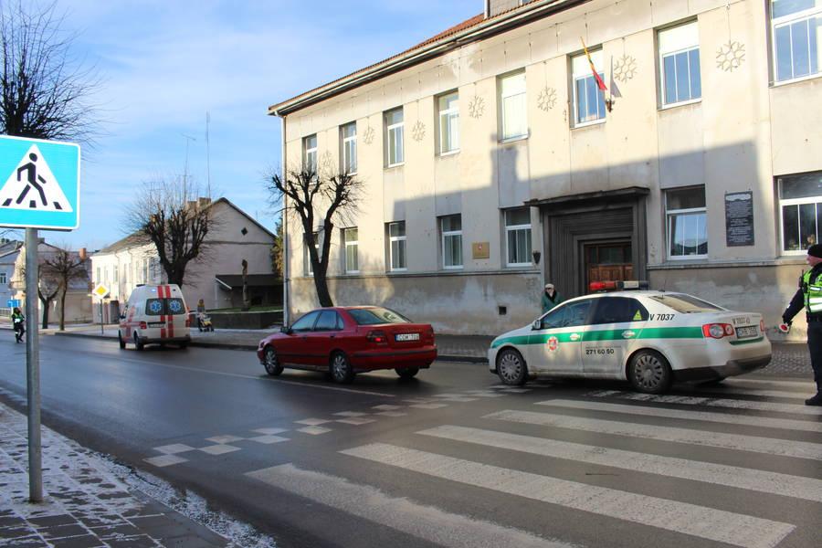 Vytauto gatvėje partrenkta pėsčioji