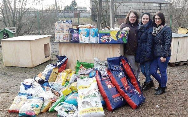 Paaukotos lėšos ir dovanos pasiekė beglobius gyvūnus