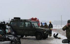 Susidūrė su kariškių automobiliu