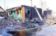 Sudegė gyvenamasis namas