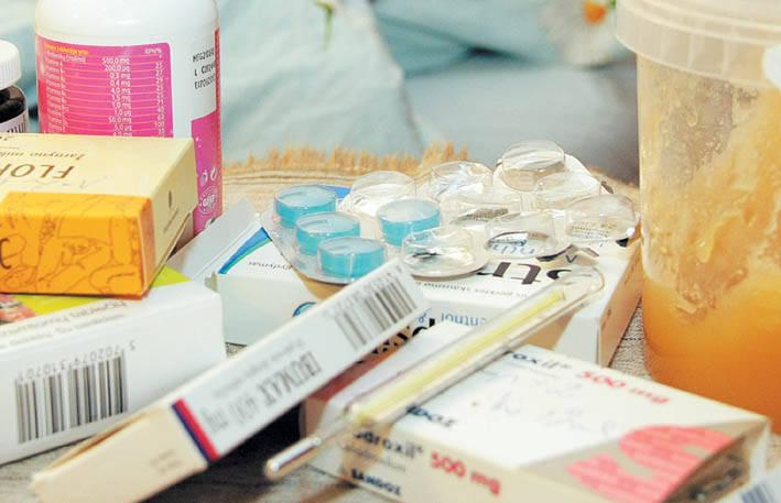 Gripas traukiasi, tačiau yra gydomų ligoninėje