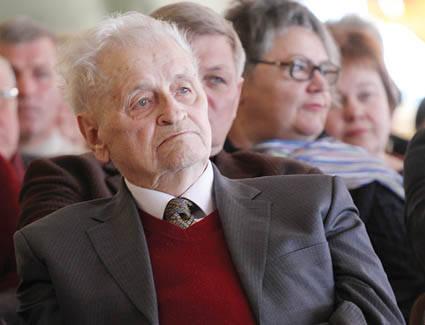 Mirė Ukmergės garbės pilietis Zigmas Zinkevičius
