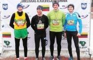 Sėkmingai įveikė 15 km trasą