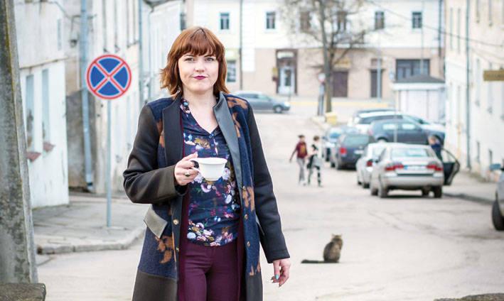 """Įstaigos vadovė Lina BAUBLIENĖ: """"Noriu būti su sijonu, būti ta, kuri aikčioja"""""""