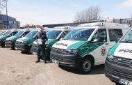 Nauji automobiliai – jau policijos kieme