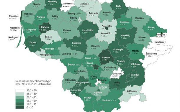 Kokybės atotrūkis skirtingose savivaldybėse yra didžiulis