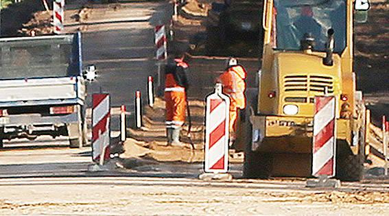 Dėl darbų – laikini eismo ribojimai