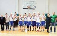 """Krepšinio pirmenybių čempionai – """"Devynetai"""""""
