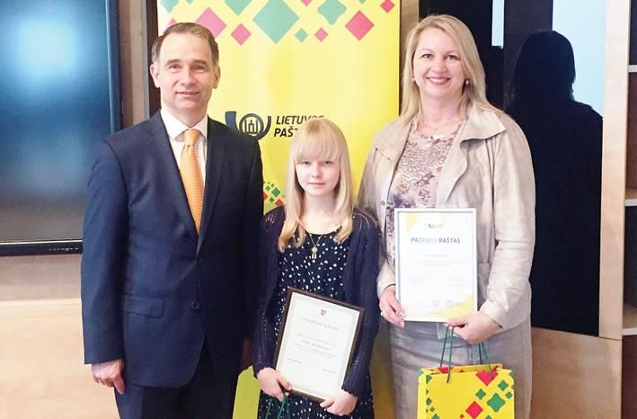 Tarp rašinio konkurso nugalėtojų – ir moksleivė iš Ukmergės