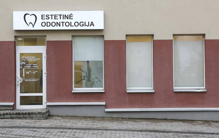 """Odontologijos klinikos """"Estetinė odontologija"""" tikslas – sveiki ir besišypsantys pacientai!"""