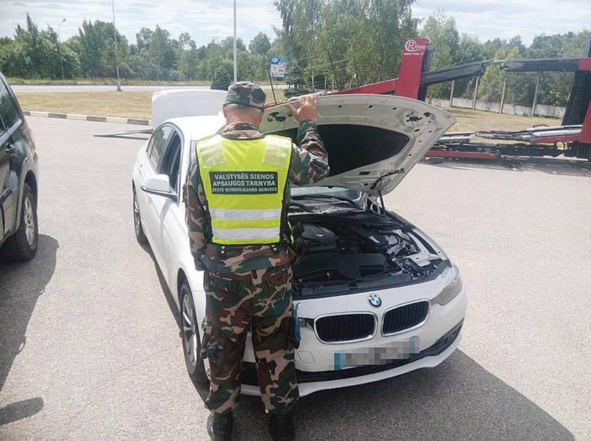 Ukmergiškis gabeno Prancūzijoje vogtą BMW