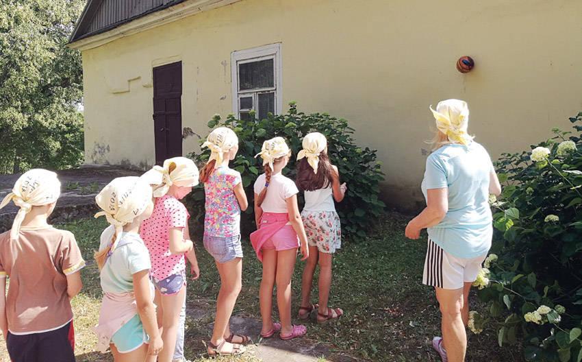 """""""Šventupiukų"""" vasaros stovykla"""