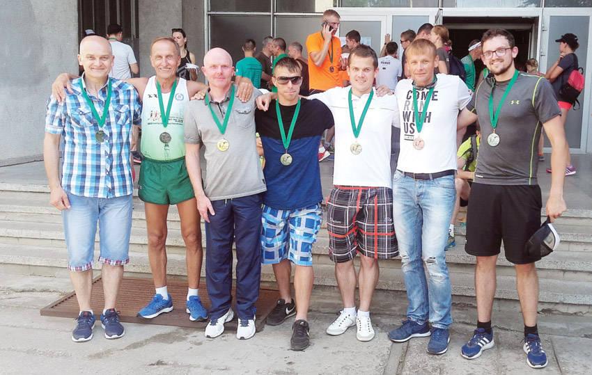 """Ukmergiškiai – tradiciniame bėgime """"Medininkai–Vilnius"""""""