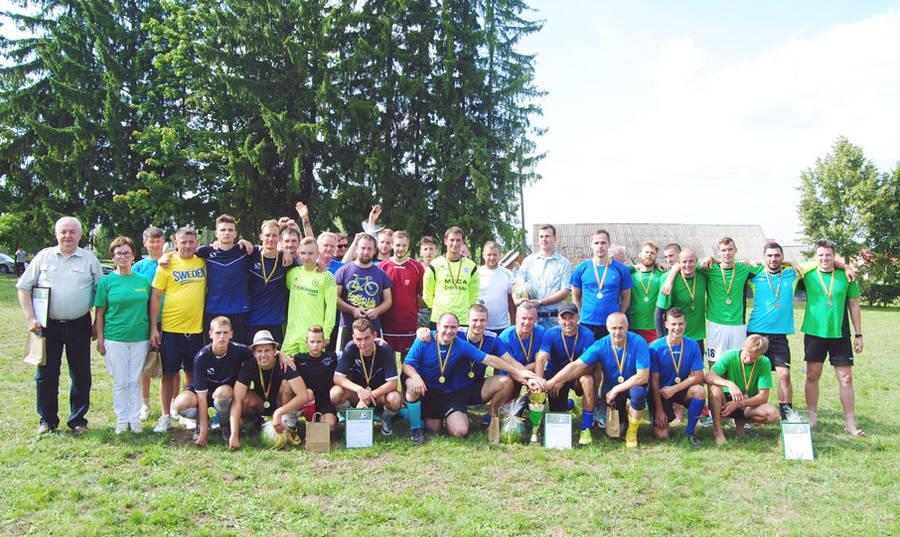 Lyduokiuose - jubiliejinis penkioliktasis futbolo turnyras