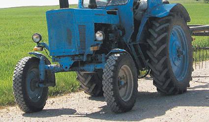 Traktorininkas buvo neblaivus