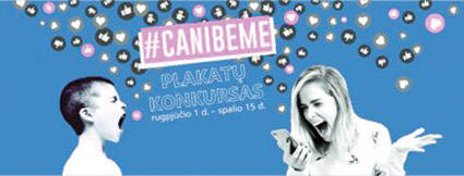 "Plakatų konkursas ""#CanIbeME?"""