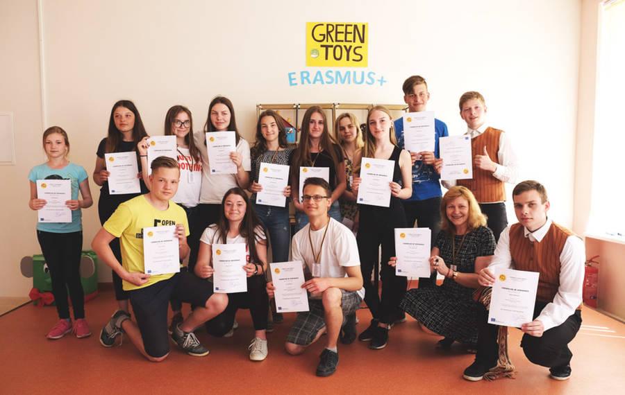 Erasmus+ projektai Siesikų gimnazijoje