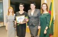 Apdovanoti geriausi kūno kultūros pedagogai
